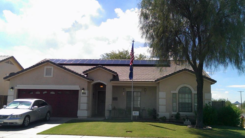 arizona home residential solar