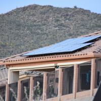 AZ home with solar panels