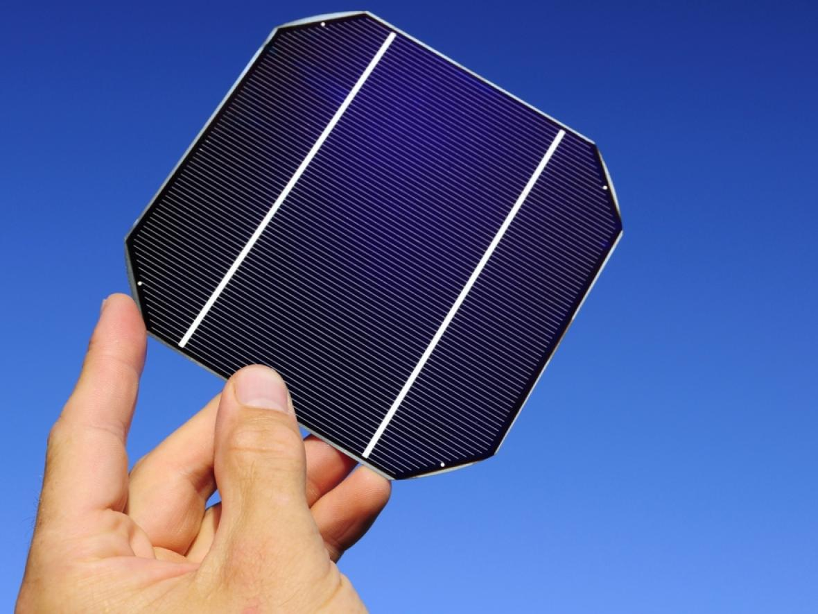 singular photovoltaic cell