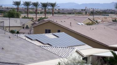 rooftop view of solar system